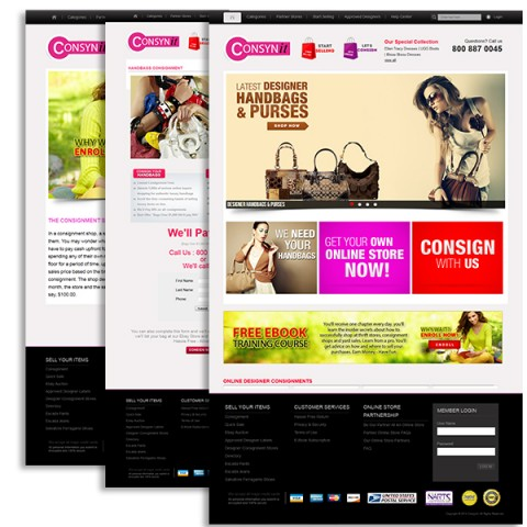 Mesterplan Homepage Design